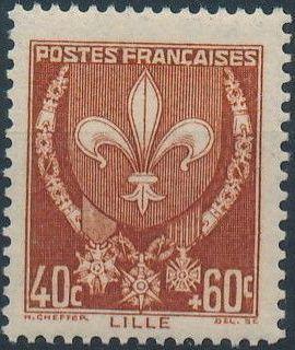 France 1941 Coat of Arms (Semi-Postal Stamps) b.jpg
