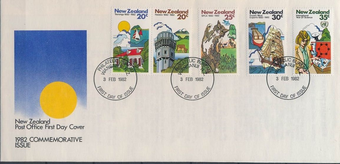 New Zealand 1982 Centenaries