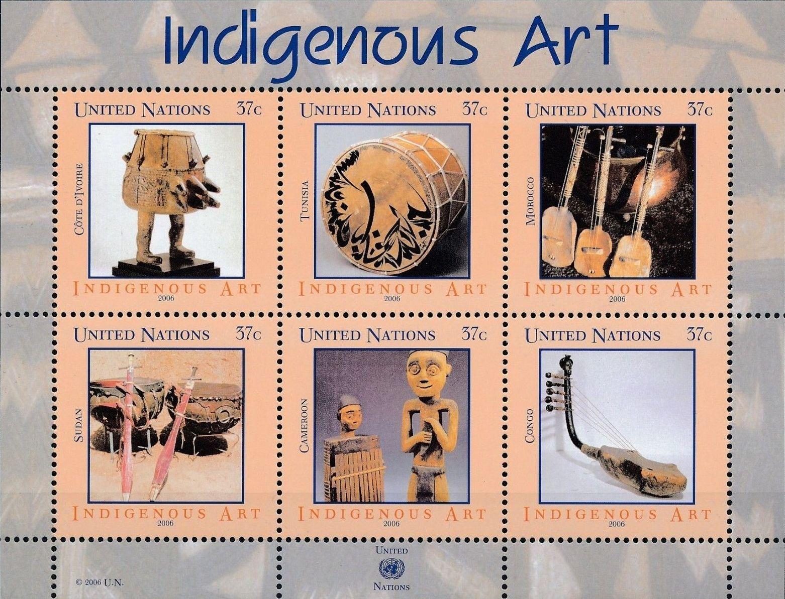 United Nations-New York 2006 Indigenous Art