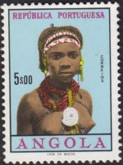 Angola 1961 Native Women from Angola k.jpg