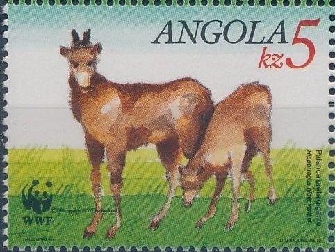Angola 1990 WWF - Giant Sable Antelope d.jpg