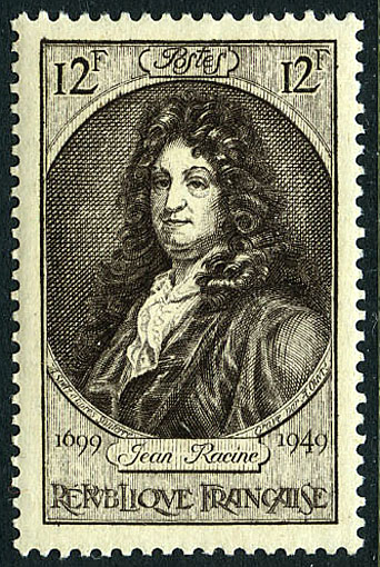 France 1949 250th Anniversary of the Death of Jean Racine