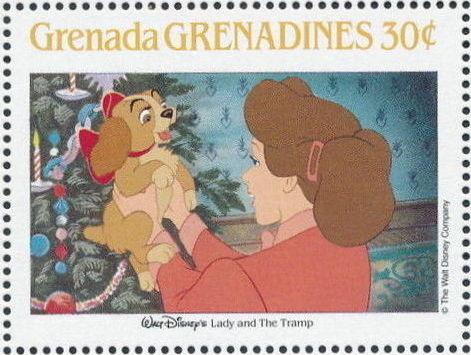 Grenada Grenadines 1988 The Disney Animal Stories in Postage Stamps 5a.jpg