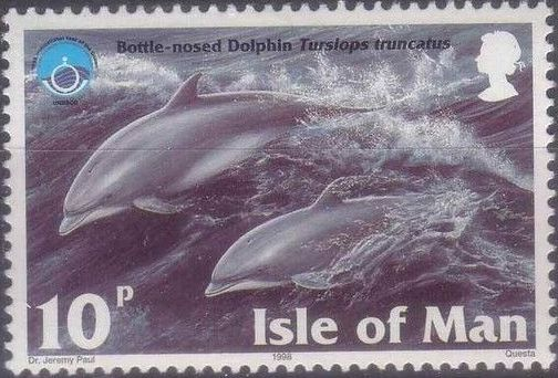 Isle of Man 1998 Year of the Ocean - Marine Mammals