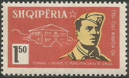 Albania 1963 20th Anniversary of the Albanian Army