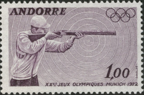 Andorra-French 1972 20th Olympic Games, Munich