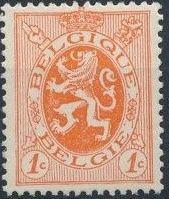 Belgium 1929 Arms - Heraldic Lion