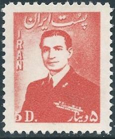Iran 1951 Mohammad Rezā Shāh Pahlavī