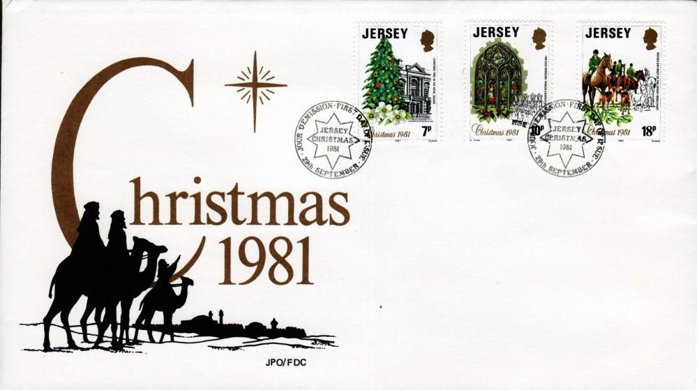 Jersey 1981 Christmas