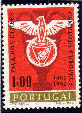Portugal 1963 Benfica Club's Double Victory in European Football Cup Championship