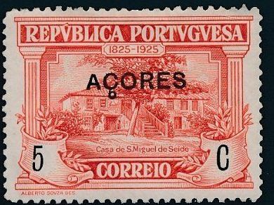 Azores 1925 Birth Centenary of Camilo Castelo Branco d.jpg