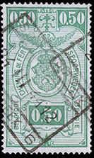 Belgium 1941 Railway Stamps (Numeral in Rectangle IV) e.jpg