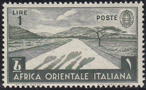 Italy-East Africa 1938 Different Subjects l.jpg