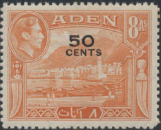 Aden 1951 King George VI Pictorials with New Values g.jpg