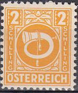 Austria 1945 Posthorn p.jpg