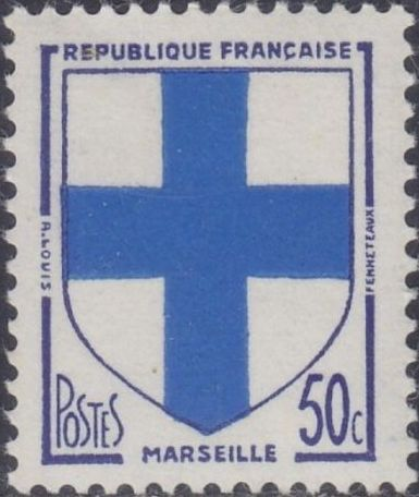 France 1958 Coat of Arms