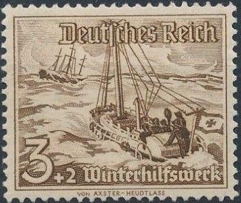 Germany-Third Reich 1937 Winter's Fund - Ships