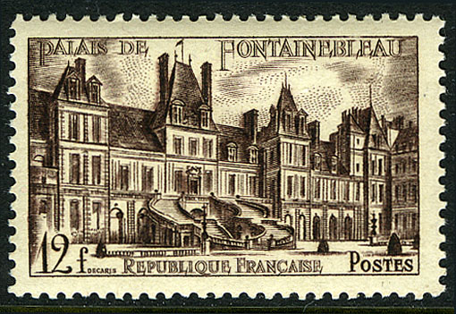 France 1951 Castle Fontainebleau (The Court Farewell)