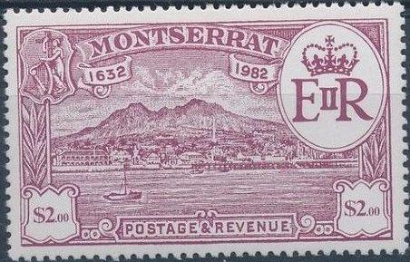 Montserrat 1982 350th Anniversary of Settlement of Montserrat by Sir Thomas Warner i.jpg