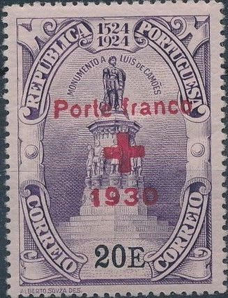 Portugal 1930 Red Cross - 400th Birth Anniversary of Camões f.jpg