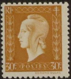 France 1945 Marianne de Dulac (2nd Issue) b.jpg