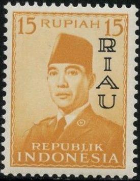 Indonesia-Riau 1960 President Sukarno - Definitives f.jpg