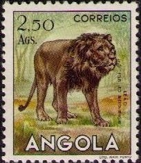 Angola 1953 Animals from Angola k.jpg