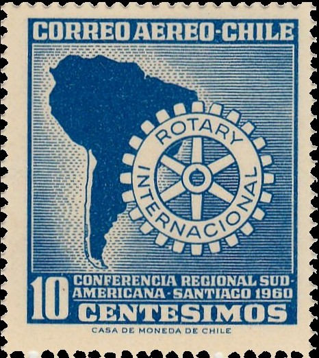 Chile 1960 South American Rotary Regional Conference in Santiago