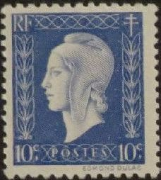 France 1945 Marianne de Dulac (2nd Issue)