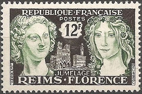 France 1956 Kinship of Reims and Florence