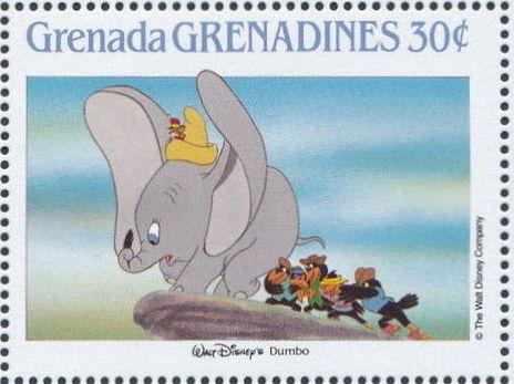 Grenada Grenadines 1988 The Disney Animal Stories in Postage Stamps 4f.jpg