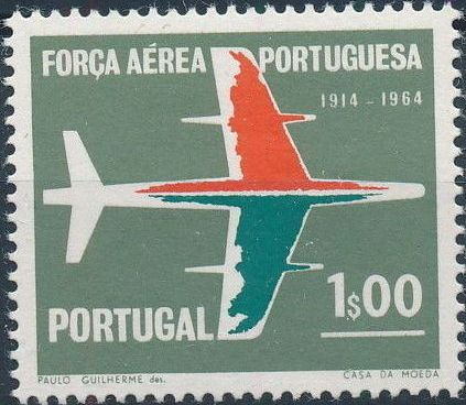 Portugal 1965 50th Anniversary of the Portuguese Air Force