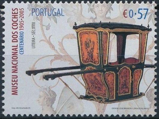 Portugal 2005 1st Centenary of National Coach Museum e.jpg