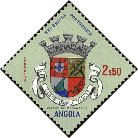 Angola 1963 Coat of Arms - (1st Serie) h.jpg