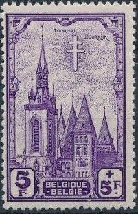 Belgium 1939 Anti Tuberculosis - Belfries h.jpg