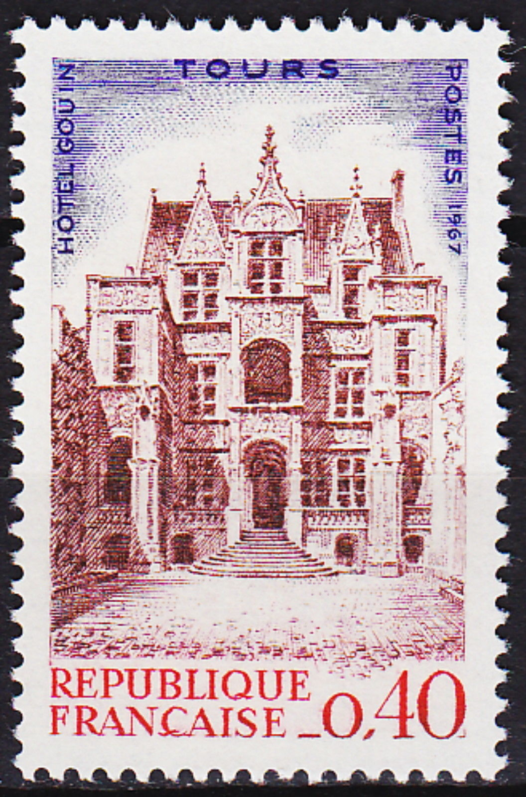 France 1967 Congress of the Federation of French Philatelic Societies