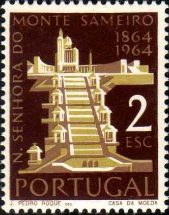 Portugal 1964 Centenary of the Shrine of Our Lady of Mt. Sameiro, Braga d.jpg