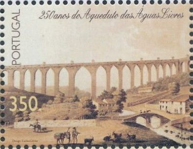 Portugal 1998 250th Anniversary of the Aquaduct Aquas Livres