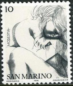 "San Marino 1976 ""Civic Virtues"""