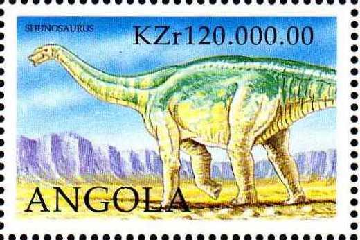 Angola 1998 Prehistoric Animals (3rd Group) e.jpg