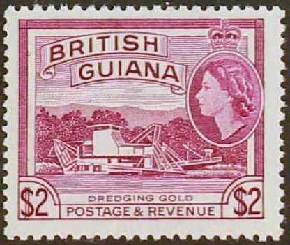 British Guiana 1954 Elizabeth II and Local Scenes n.jpg
