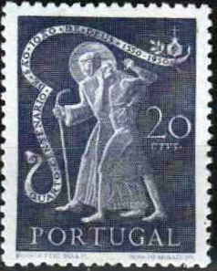 Portugal 1950 400th anniversary of the death of St. John of God