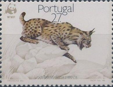Portugal 1988 WWF Iberian Lynx (Lynx pardina)