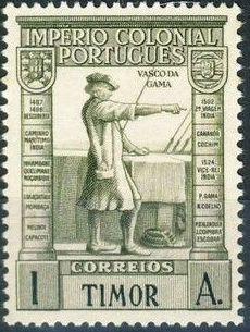 Timor 1938 Portuguese Colonial Empire
