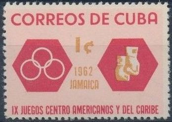 Cuba 1962 9th Central American and Caribbean Games
