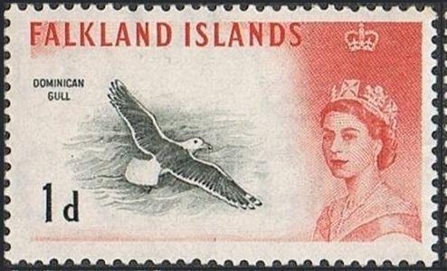 Falkland Islands 1960 Queen Elizabeth II and Birds b.jpg