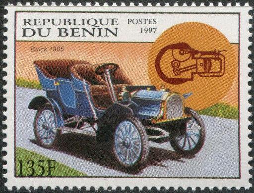 Benin 1997 Antique Automobiles