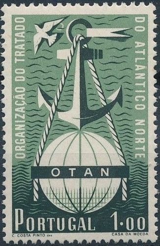 Portugal 1952 3rd Anniversary of North Atlantic Treaty Signing