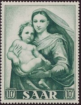 Saar 1954 Centenary of the Promulgation of the Dogma of the Immaculate Conception b.jpg