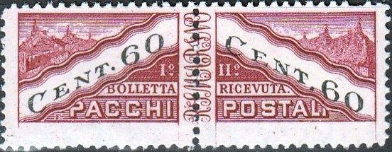 San Marino 1945 Parcel Post Stamps g.jpg